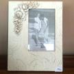 Fotorámik Provence White Rose 8x13 cm TRE