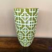 Váza Zelená vzor - 4402900TRE