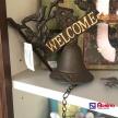 Kovový zvonček Welcome - TRE 6Y0998