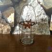 Svietnik kovový Motýľ - 16334TRE
