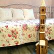 Kostolík drevený svietiaci HNEDÝ - 90 cm ART