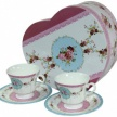Set šálok Ružička Romantic+tanierik v darček.balení - 94342ART