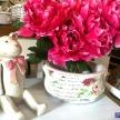 Kvetináč Provence s ružičkami - 75204ART