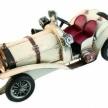Replika auta RETRO krémové, ART 50394