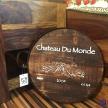 Drevená tácka hnedá Chateau Du Monde - 2786200TRE