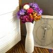 Váza Biela veľká - 58cm, 48,00€, 96965TRE